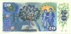 20 Korun TCHÉCOSLOVAQUIE  1988 P.095 NEUF