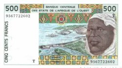 500 Francs TOGO  1995 P.810Te NEUF