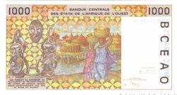 1000 Francs TOGO  1999 P.811Ti