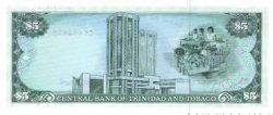 5 Dollars TRINIDAD et TOBAGO  1985 P.37c pr.NEUF