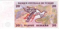 20 Dinars TUNISIE  1992 P.88 NEUF