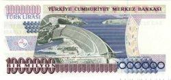 1000000 Lirasi TURQUIE  1996 P.209