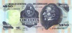 50 Nuevos Pesos URUGUAY  1989 P.061A NEUF