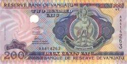 200 Vatu VANUATU  1995 P.08a NEUF