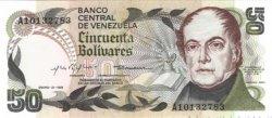 50 Bolivares VENEZUELA  1981 P.058 NEUF