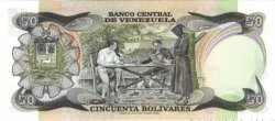50 Bolivares VENEZUELA  1981 P.058