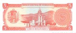 5 Bolivares VENEZUELA  1989 P.070b