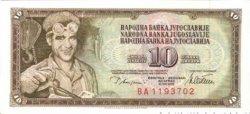 10 Dinara YOUGOSLAVIE  1978 P.087a