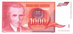 1000 Dinara YOUGOSLAVIE  1992 P.114 NEUF