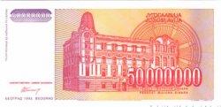50000000 Dinara YOUGOSLAVIE  1993 P.133 NEUF