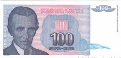 100 Dinara YOUGOSLAVIE  1994 P.139