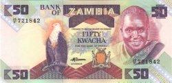 50 Kwacha ZAMBIE  1986 P.28 NEUF