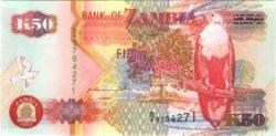 50 Kwacha ZAMBIE  1992 P.37a NEUF