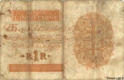 1 Roupie - 1 Rupee INDE FRANÇAISE  1945 P.004d B+