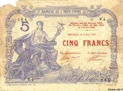 5 Francs NOUVELLE CALÉDONIE  1916 P.15a B