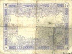 5 Francs NOUVELLE CALÉDONIE  1916 P.15a B+