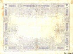 5 Francs NOUVELLE CALÉDONIE  1924 P.19 TTB