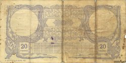 20 Francs NOUVELLE CALÉDONIE  1913 P.16a B+