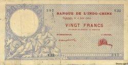 20 Francs NOUVELLE CALÉDONIE  1924 P.20 TB+