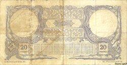 20 Francs NOUVELLE CALÉDONIE  1925 P.20 TB+