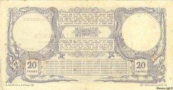 20 Francs NOUVELLE CALÉDONIE  1925 P.20 TTB+