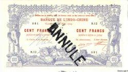 100 Francs NOUVELLE CALÉDONIE  1914 P.17s pr.NEUF