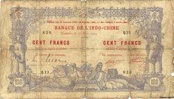 100 Francs NOUVELLE CALÉDONIE  1914 P.17 AB
