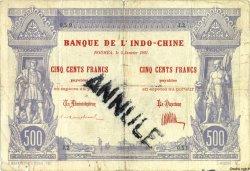 500 Francs NOUVELLE CALÉDONIE  1921 P.22s pr.TB