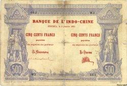 500 Francs NOUVELLE CALÉDONIE  1921 P.22 pr.TB