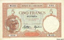 5 Francs NOUVELLE CALÉDONIE  1940 P.36b