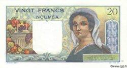 20 Francs NOUVELLE CALÉDONIE  1958 P.50as NEUF