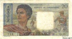 20 Francs NOUVELLE CALÉDONIE  1958 P.50b TB