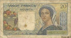 20 Francs NOUVELLE CALÉDONIE  1963 P.50c AB