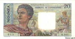20 Francs NOUVELLE CALÉDONIE  1963 P.50c TTB+