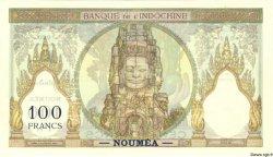 100 Francs NOUVELLE CALÉDONIE  1937 P.42as SPL