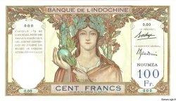 100 Francs NOUVELLE CALÉDONIE  1937 P.42bs pr.NEUF