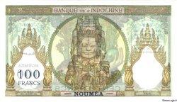 100 Francs NOUVELLE CALÉDONIE  1953 P.42cs SPL