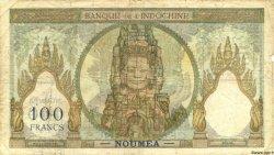 100 Francs NOUVELLE CALÉDONIE  1953 P.42c B+