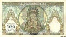100 Francs NOUVELLE CALÉDONIE  1953 P.42c TB+