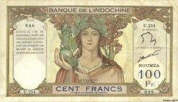 100 Francs NOUVELLE CALÉDONIE  1963 P.42e