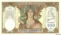 100 Francs NOUVELLE CALÉDONIE  1963 P.42e TTB+
