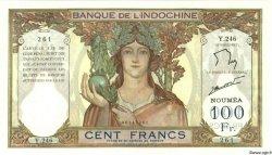 100 Francs NOUVELLE CALÉDONIE  1963 P.42e SUP