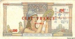 100 Francs NOUVELLE CALÉDONIE  1939 P.39 TTB+