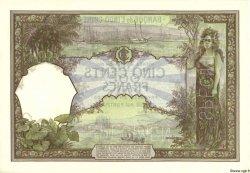 500 Francs NOUVELLE CALÉDONIE  1927 P.38s SPL