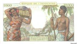 1000 Francs NOUVELLE CALÉDONIE  1963 P.43d SUP