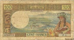100 Francs NOUVELLE CALÉDONIE  1969 P.59 AB