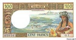 100 Francs NOUVELLE CALÉDONIE  1969 P.59 SUP