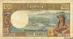 100 Francs NOUVELLE CALÉDONIE  1971 P.63a B