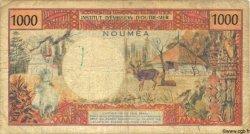 1000 Francs NOUVELLE CALÉDONIE  1983 P.64 B+