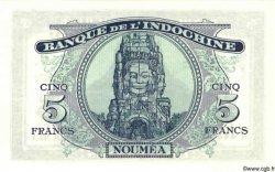 5 Francs NOUVELLE CALÉDONIE  1944 P.48